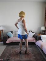 Kat Lara. Blue Skirt Free Pic 2