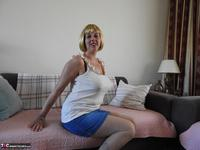 Kat Lara. Blue Skirt Free Pic 4