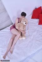 Hot Milf. Purplr Body & Teddy Free Pic 2