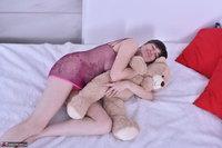 Hot Milf. Purplr Body & Teddy Free Pic 3