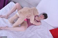 Hot Milf. Purplr Body & Teddy Free Pic 5