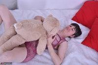 Hot Milf. Purplr Body & Teddy Free Pic 6