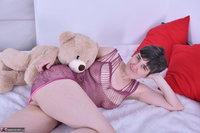 Hot Milf. Purplr Body & Teddy Free Pic 9