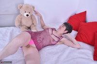 Hot Milf. Purplr Body & Teddy Free Pic 11