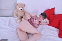 Hot Milf. Purplr Body & Teddy Free Pic 12