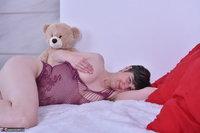 Hot Milf. Purplr Body & Teddy Free Pic 15