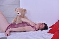 Hot Milf. Purplr Body & Teddy Free Pic 16