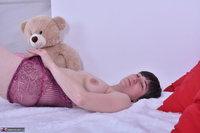 Hot Milf. Purplr Body & Teddy Free Pic 17