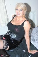 . Black PVC THigh Boots Free Pic 4