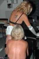 Kyras Nylons. Kyra & Her Girlfriend Pt3 Free Pic 5