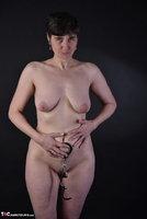 Hot Milf. Wetlook Dress & Handcuffs Free Pic 20