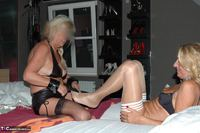 Kyras Nylons. Kyra & Her Girlfriend Pt5 Free Pic 13