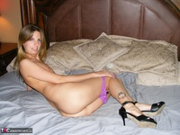 Kiss Alissa. Purple Panties Free Pic 5