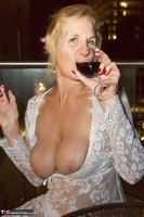 Molly MILF. On The Balcony At Night Free Pic 7