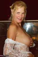 Molly MILF. On The Balcony At Night Free Pic 16