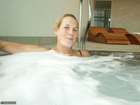 Molly MILF. In The Pool Free Pic 13