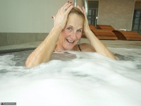 Molly MILF. In The Pool Free Pic 14