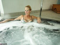 Molly MILF. In The Pool Free Pic 16