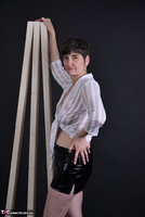 Hot Milf. Wet Look Skirt Free Pic 1