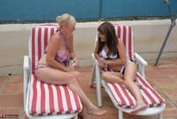Melody. Sunbed Shenanigans With Pandora Pt1 Free Pic 4