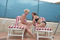 Melody. Sunbed Shenanigans With Pandora Pt1 Free Pic 7