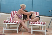 Melody. Sunbed Shenanigans With Pandora Pt1 Free Pic 8