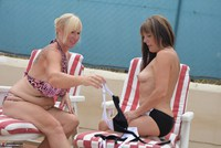 Melody. Sunbed Shenanigans With Pandora Pt1 Free Pic 10