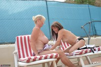 Melody. Sunbed Shenanigans With Pandora Pt1 Free Pic 18
