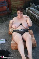 Kinky Carol. Stripping In The Evening Sun Pt3 Free Pic 5