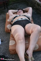 Kinky Carol. Stripping In The Evening Sun Pt3 Free Pic 6