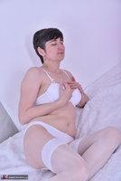 Hot Milf. White Lingerie Pt1 Free Pic 7