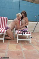Melody. Sunbed Shenanigans With Pandora Pt2 Free Pic 5