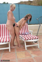 Melody. Sunbed Shenanigans With Pandora Pt2 Free Pic 16
