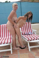 Melody. Sunbed Shenanigans With Pandora Pt2 Free Pic 19