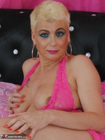 . Pink Crotchless Bodysuit Free Pic 14