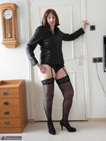 Kat Kitty. Back Seamed Stockings Pt1 Free Pic 3