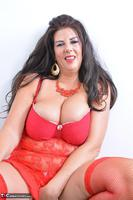 LuLu Lush. Lulu's Red Lingerie Pt1 Free Pic 5