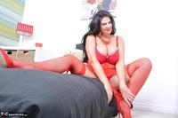 LuLu Lush. Lulu's Red Lingerie Pt1 Free Pic 7