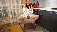 Diana Ananta. White Bathrobe Free Pic 10