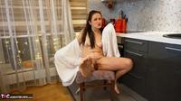 Diana Ananta. White Bathrobe Free Pic 12