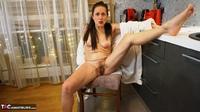 Diana Ananta. White Bathrobe Free Pic 15