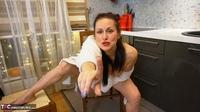 Diana Ananta. White Bathrobe Free Pic 19