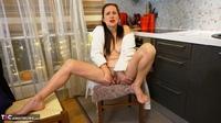 Diana Ananta. White Bathrobe Free Pic 20