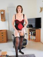 Kat Kitty. Back Seamed Stockings Pt2 Free Pic 6