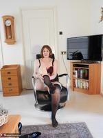 Kat Kitty. Back Seamed Stockings Pt2 Free Pic 7