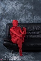 Hot Milf. Posing In My Red Funsuit Pt1 Free Pic 8