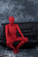 Hot Milf. Posing In My Red Funsuit Pt1 Free Pic 11