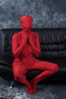 Hot Milf. Posing In My Red Funsuit Pt1 Free Pic 12
