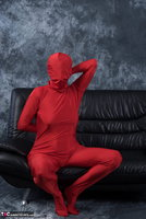 Hot Milf. Posing In My Red Funsuit Pt1 Free Pic 14