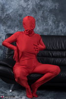 Hot Milf. Posing In My Red Funsuit Pt1 Free Pic 15